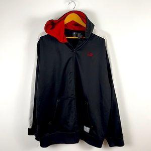 ✨3/$25✨Starter Black Full Zip Track Jacket